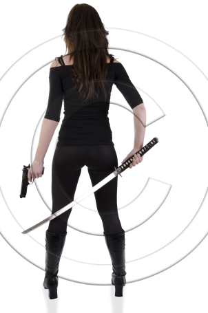 Warrior Woman - BigStock